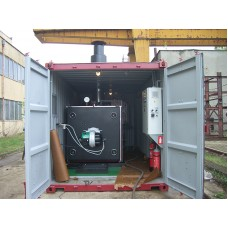 1MW containerized hot water boiler