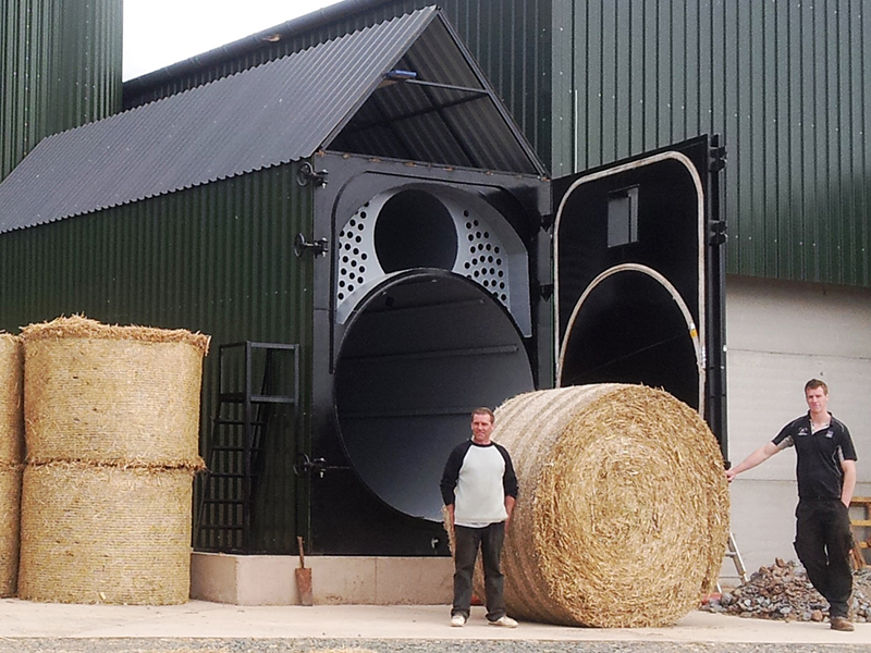 Straw-boilers